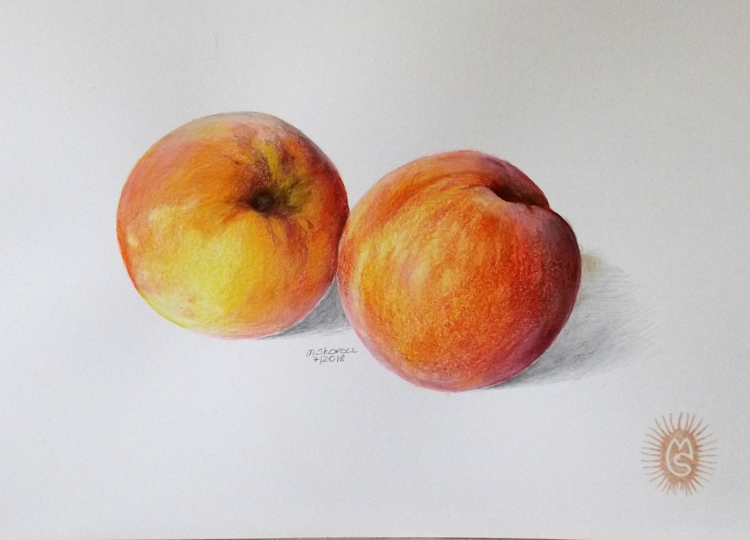 Pfirsiche und Nektarinen sind enge Verwandten