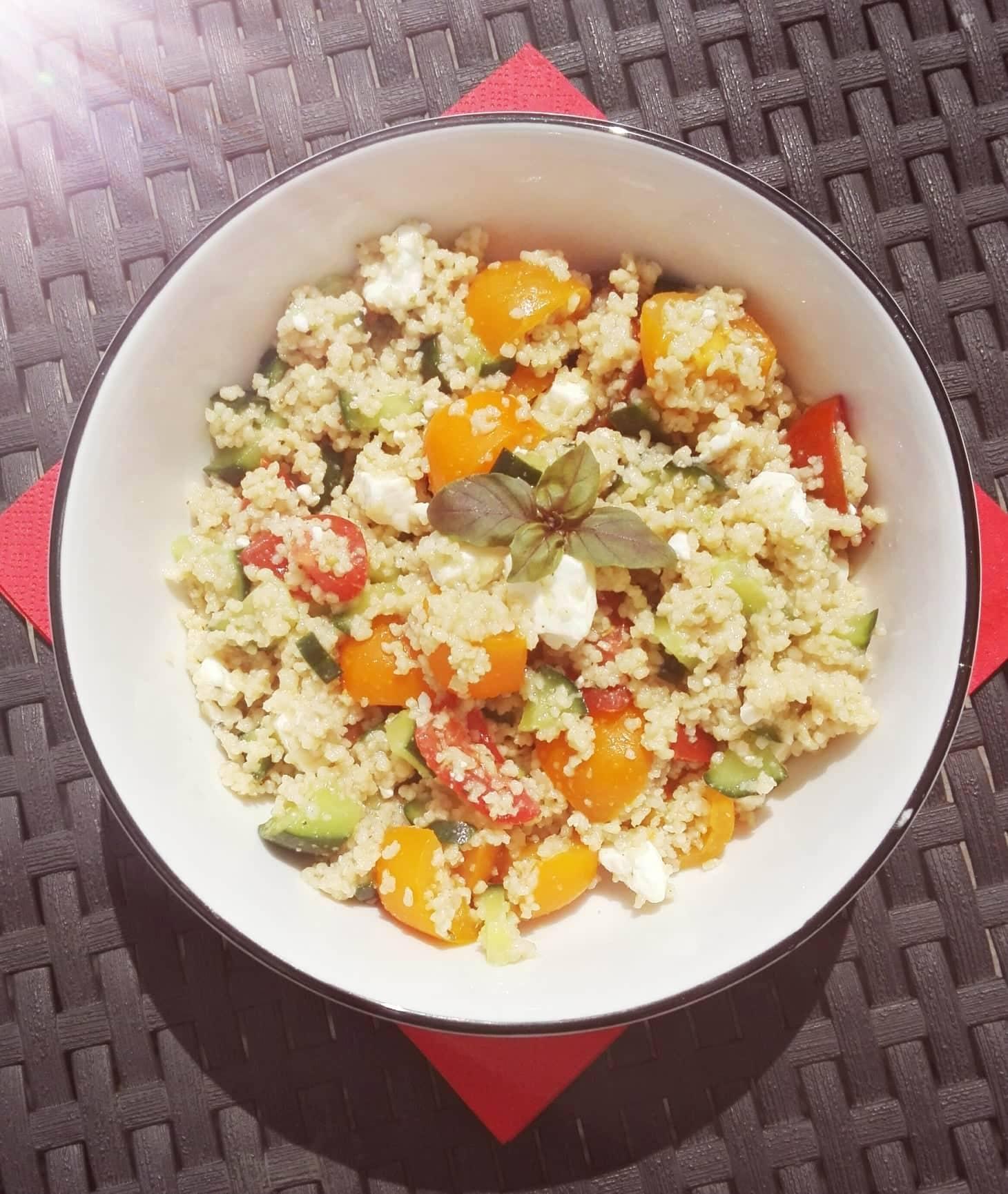 Couscous-Salat – Sommerfrische voller Urlaubsflair