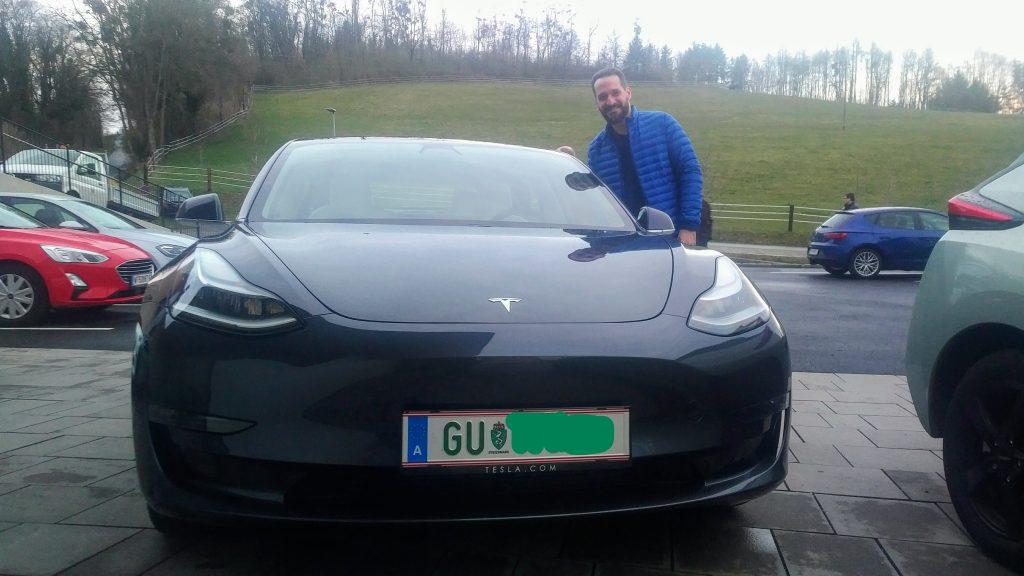 Tesla auf dem KEM treffen in Allerheiligen