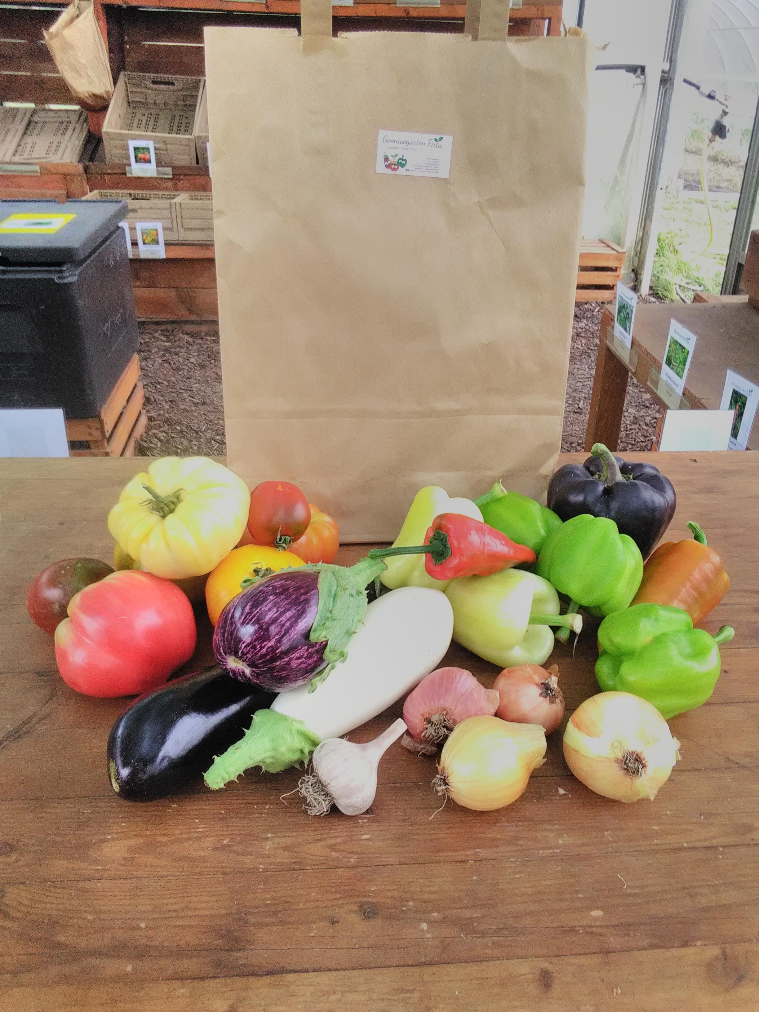 Gemüse-Sackerl Rezepte