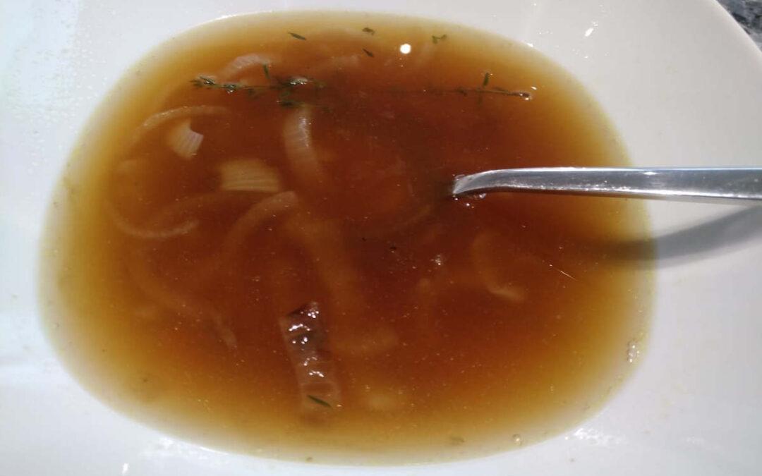 Schnelle Suppe für die man alles zu Hause hat