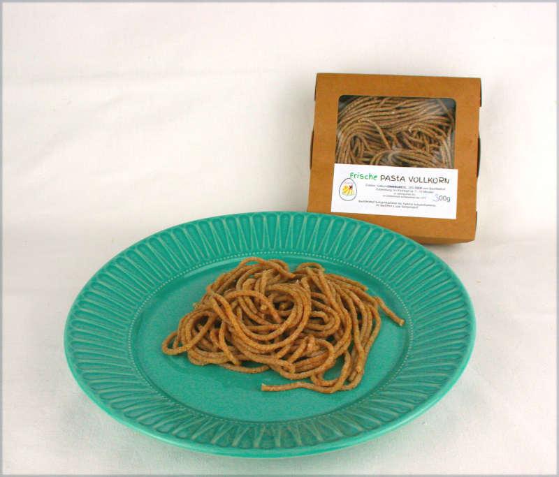 Frische Vollkorn Pasta vom Bachfeldhof