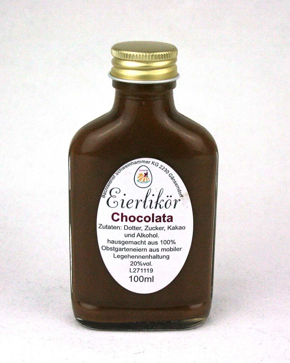Eierlikör Schokolade von Bio-Hühnern - regionale Köstlichkeiten online bestellen