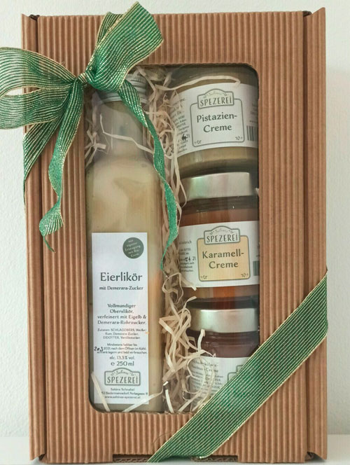 Geschenkbox von Sabines Spezerei