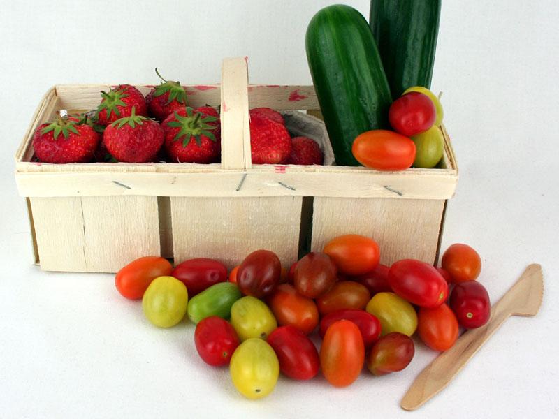 Picknick-Korb Gemüs