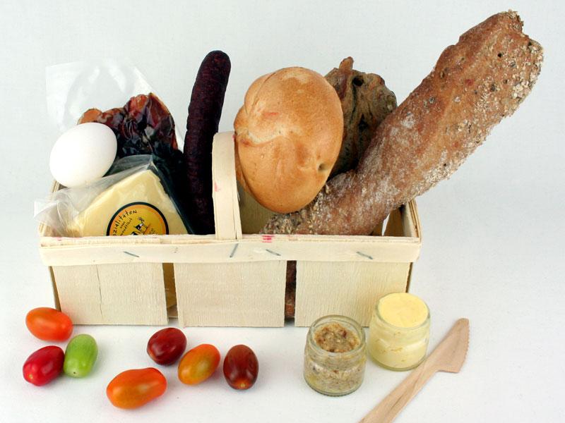 Picknick-Korb salzig