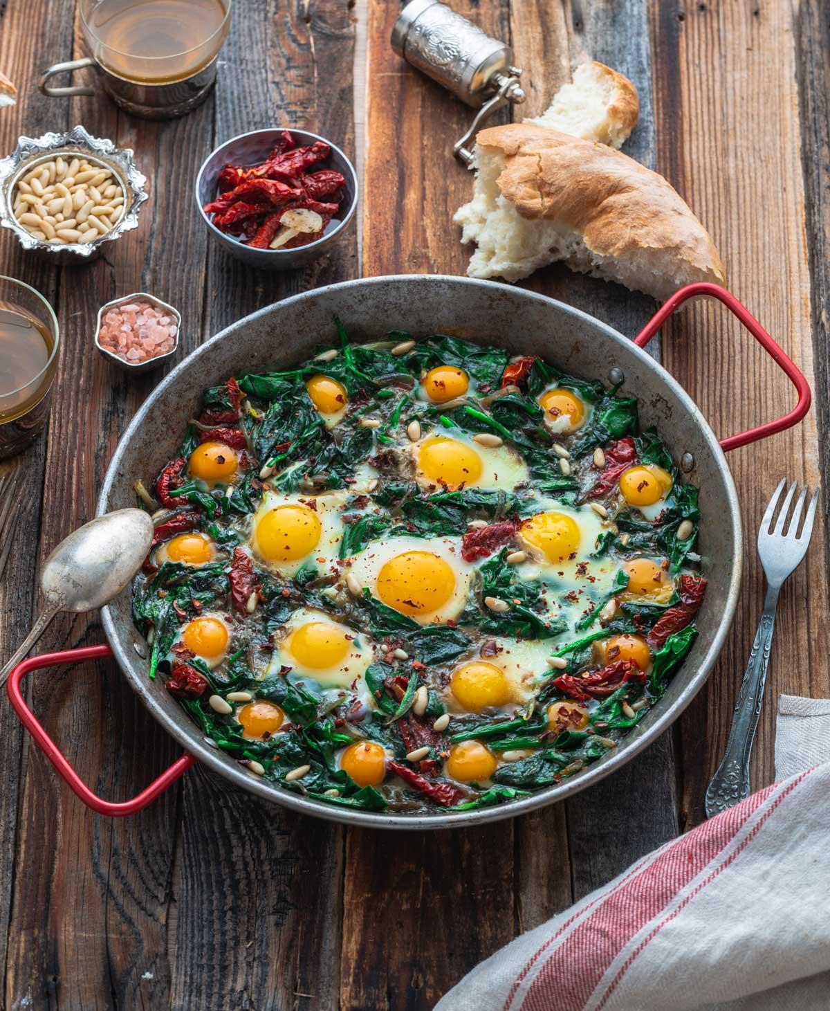 Frischer Spinat aus dem Marchfeld für Ihr Gründonnerstags-Menü
