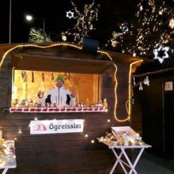 Ögreissler am Weihnachtsmarkt